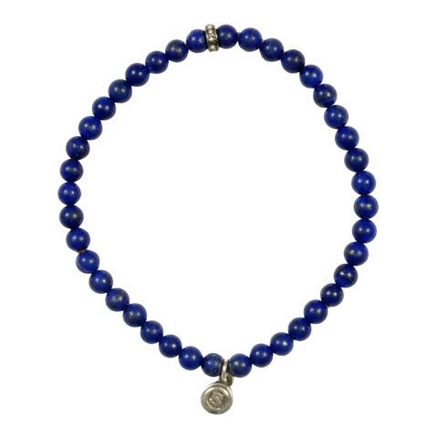 SC Signature Lapis Diamond Mini Bracelet