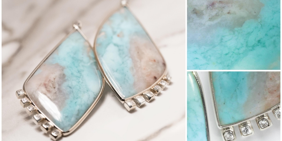 Aquaprase Collection Earrings