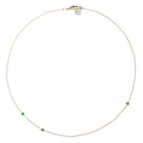 Emerald Love Necklace