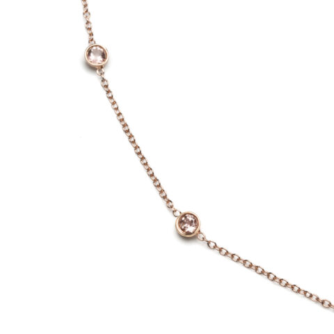 Pink Love Necklace-a