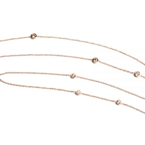 Pink Love Necklace-d